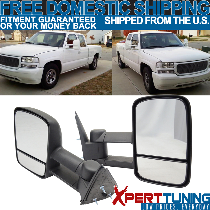 1999 2006 Gmc Sierra Chevy Silverado Side View Tow Mirrors