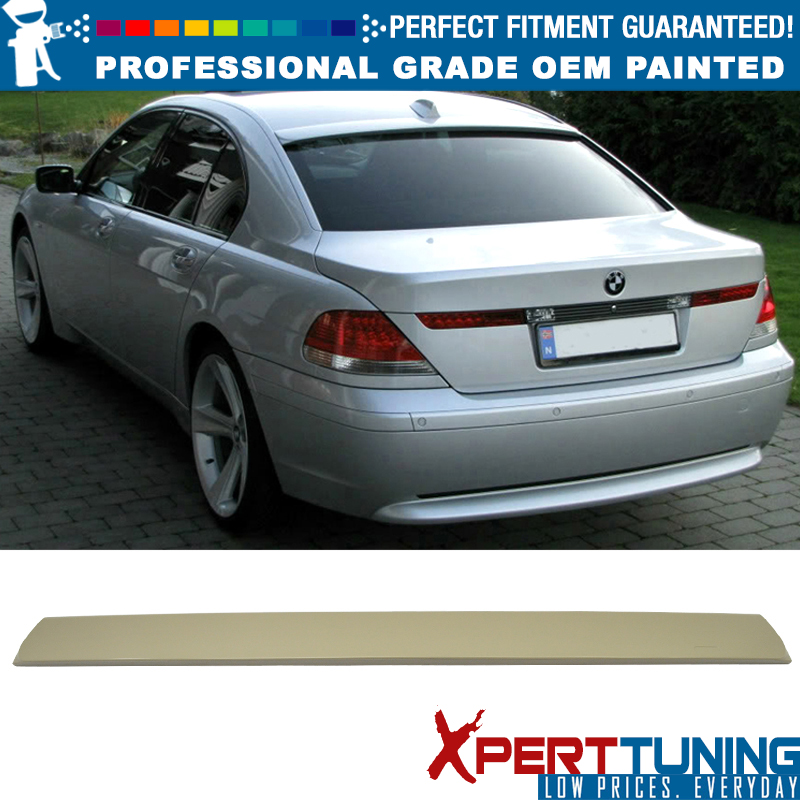 SHIP FROM LA PAINTED BMW E65 E66 7-SERIES A TYPE ROOF SPOILER SEDAN 07 08 #475