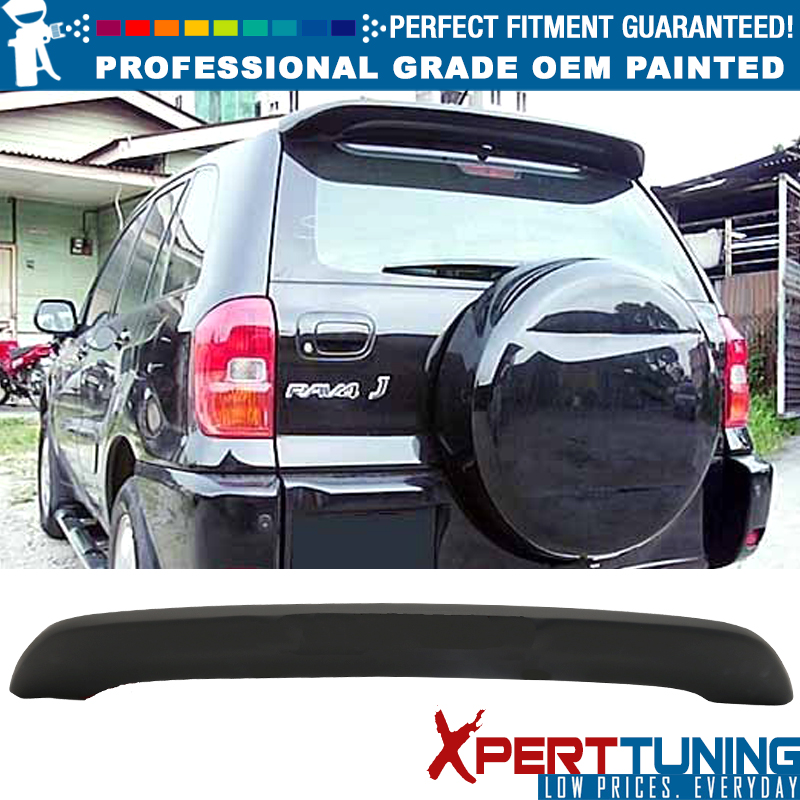 Fit For 01-05 Toyota RAV4 Rear Roof Spoiler OE Style ABS