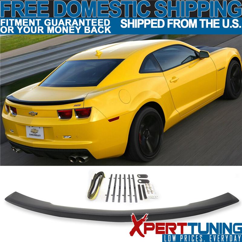 14-15 Chevrolet Camaro montagem rente OE Factory Estilo Trunk Spoiler-Abs