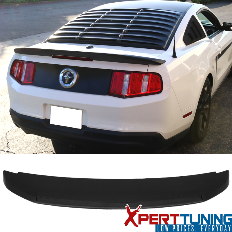 APR Style Real Carbon Fiber GT Wing Rear Spoiler For Ford Mustang 14-17