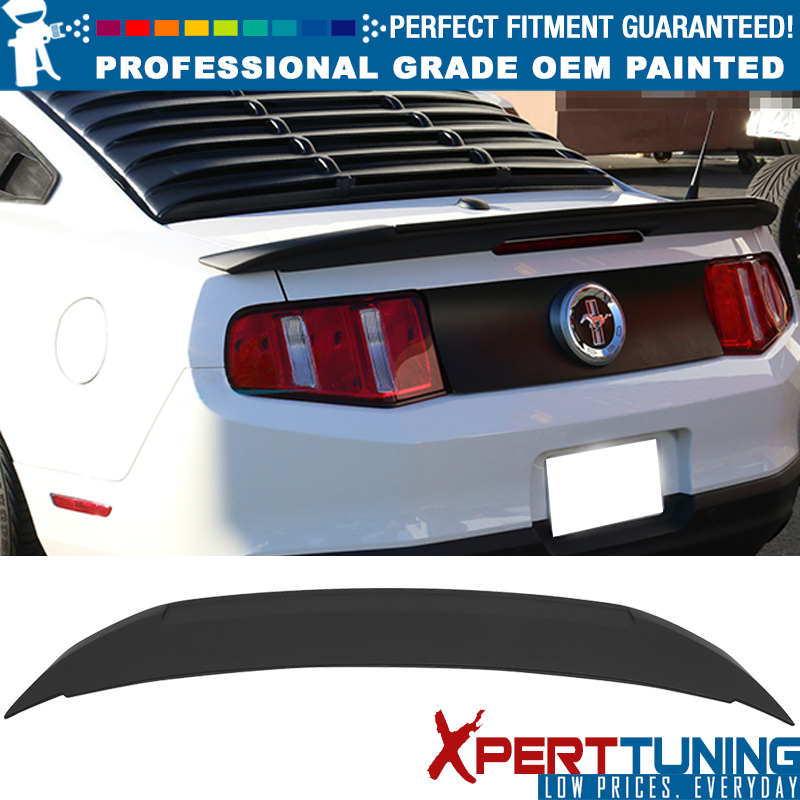 For 2010-2014 Ford Mustang Shelby GT500 Factory Style Rear Trunk Spoiler Wing