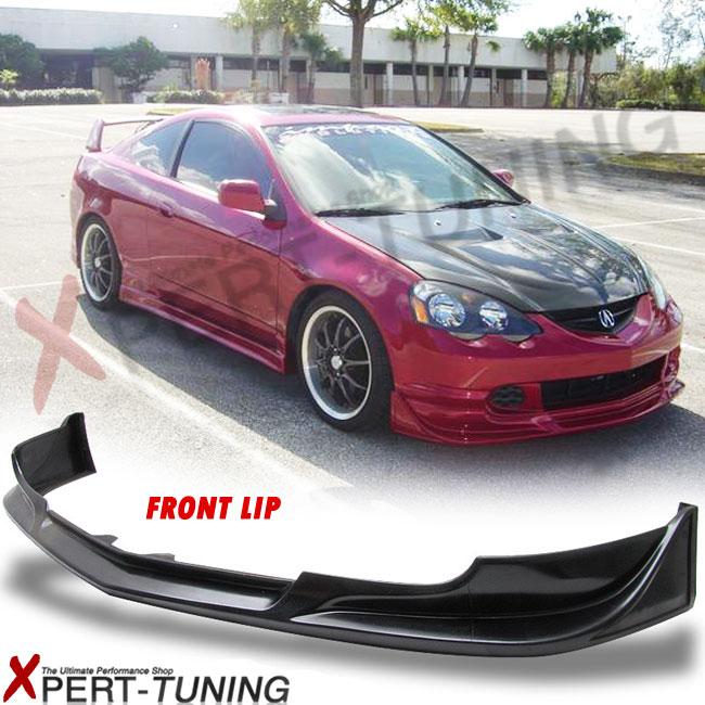 02-04 Acura RSX Mugen Front Bumper Lip Spoiler Urethane