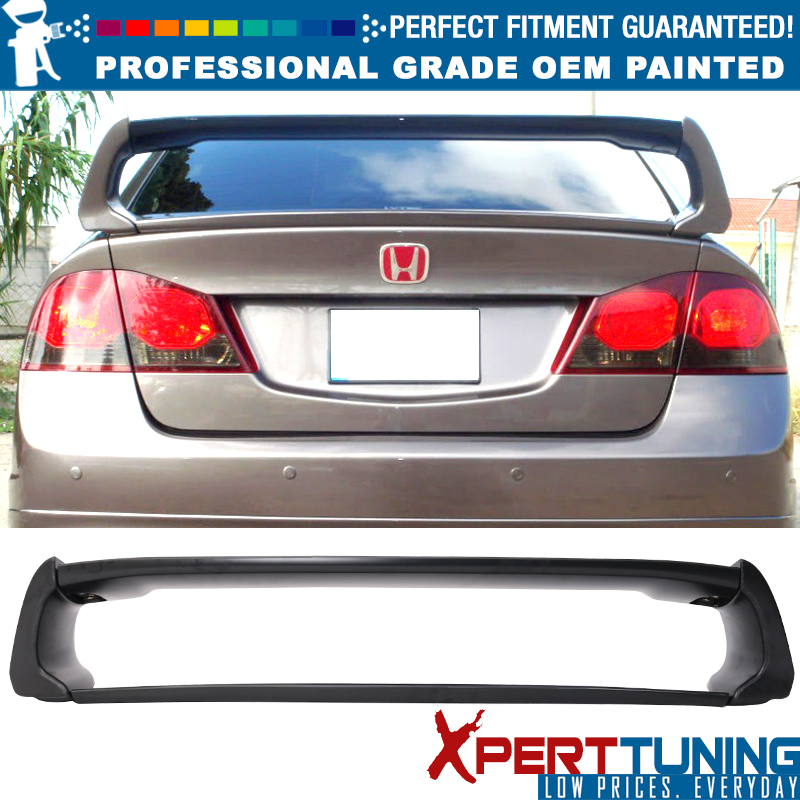 2004 2005 Honda Civic Sedan Rear Bumper Painted B529P Fiji Blue Pearl