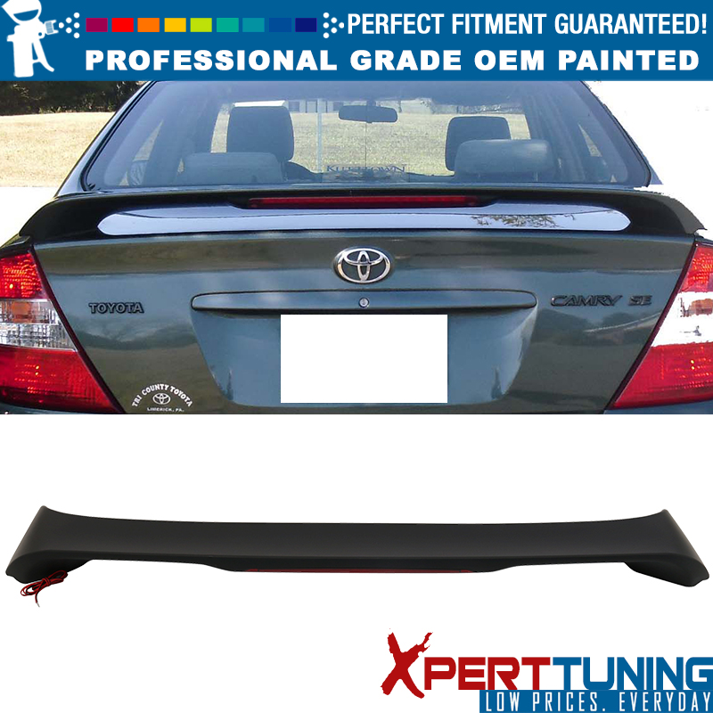 Fits 2002-2006 Camry NEW OE Factory Style Painted Spoiler Wing Super White 2 040