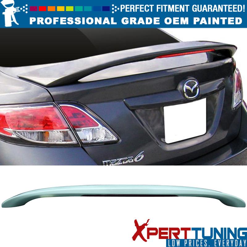 2009-2013 Mazda 6 Rear Trunk Spoiler PAINTED 37C