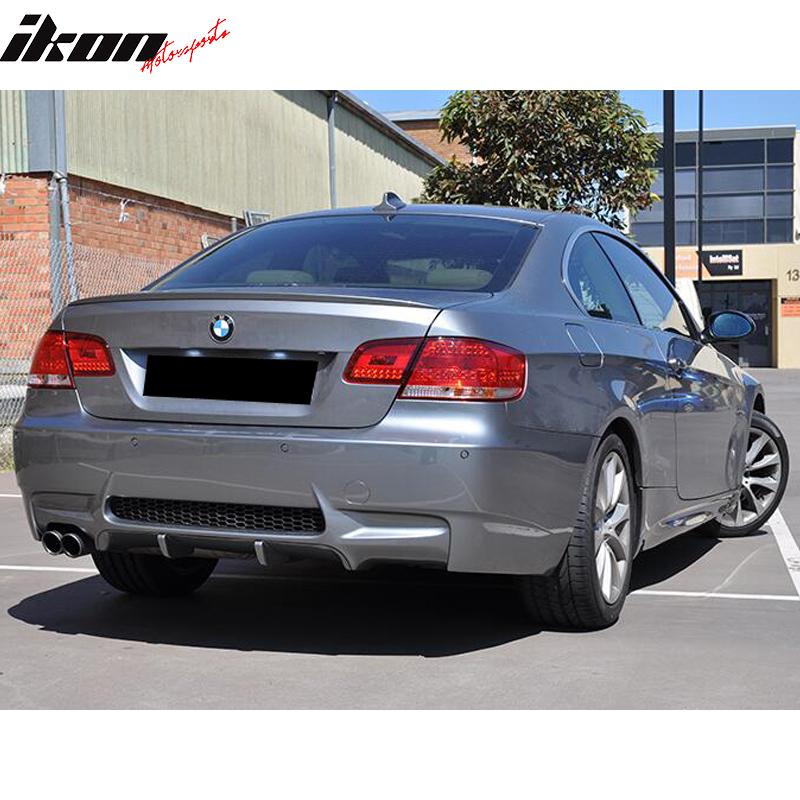 07-13 BMW E92 E93 M3 Style Rear Bumper Cover Single