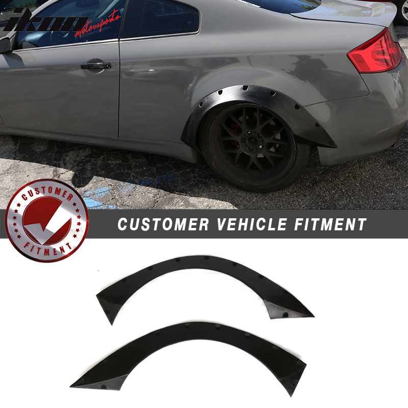 Fits 03 07 Infiniti G35 Coupe Rb Style Rear Wide Body
