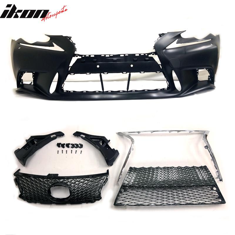 For 14-16 Lexus IS250 IS350 F-Sport Front Bumper