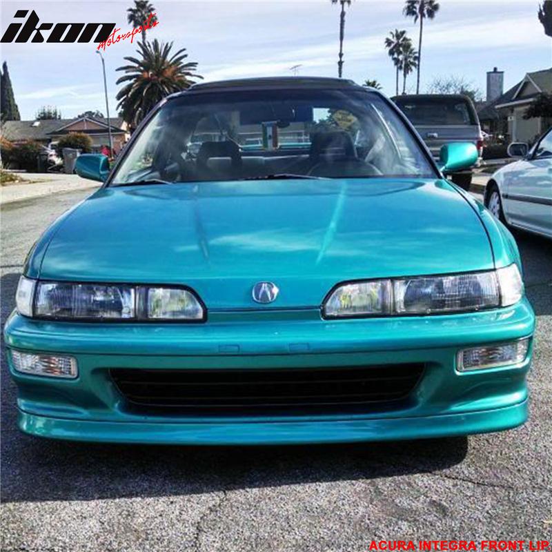 Fits Acura Integra JDP Style Poly Urethane Front Bumper Lip - Acura integra 92