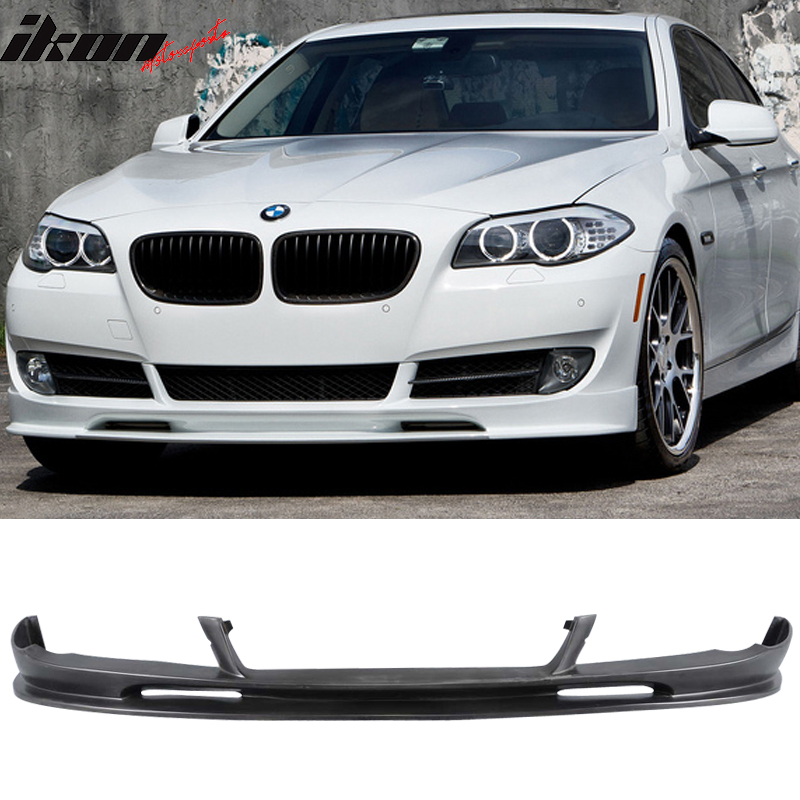 PU Urethane Fits 10-13 BMW F10 5 Series 3D Style Front Bumper Lip Unpainted
