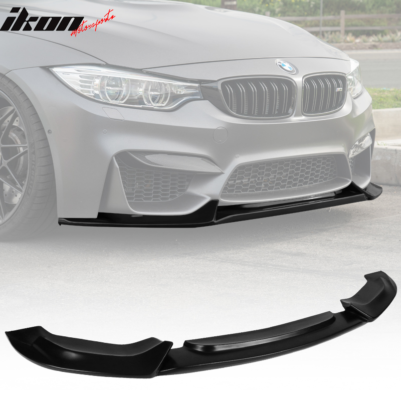 F82 M4 15-18 US Carbon Fiber Front Bumper Splitter Spoiler Lip Fit BMW F80 M3