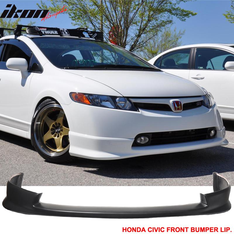 Fits 06 08 Honda Civic 4dr Sedan Hfp Style Front Bumper