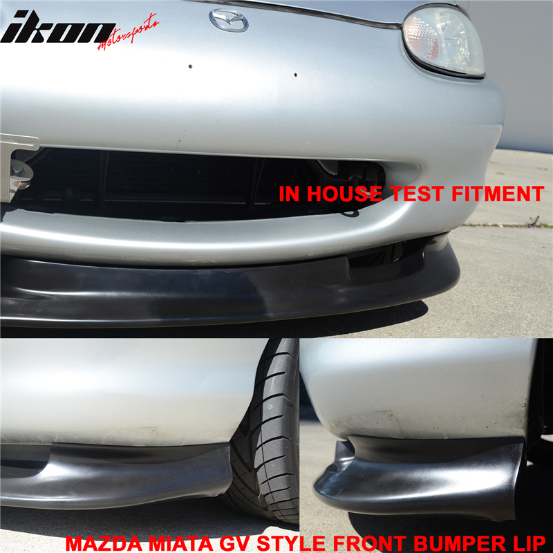 Na Miata Garage Vary Tail Lights: Fits 99-00 Mazda Miata MX-5 GV Style Coupe Front Bumper