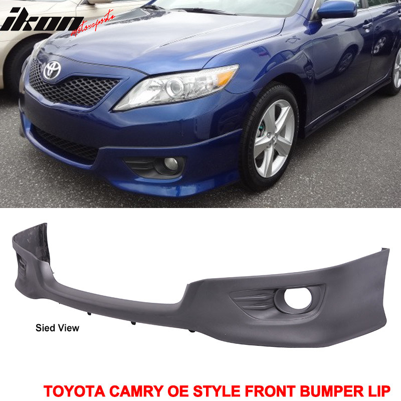 Fits 10 11 Toyota Camry Oe Style Front Lower Bumper Valance Spoiler