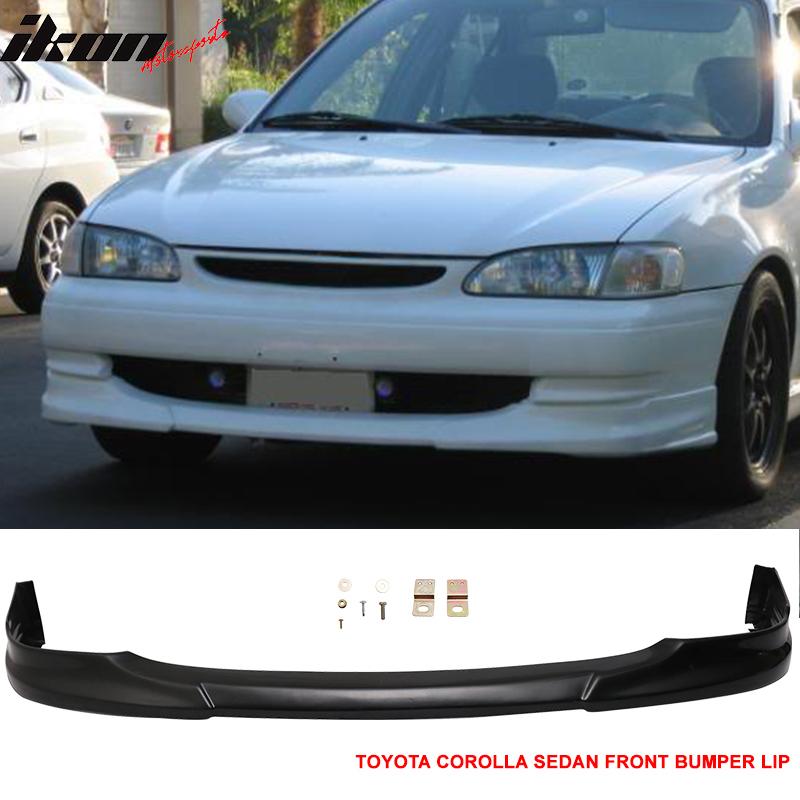 98 02 Toyota Corolla Sedan Zze110 Sport Rs Abs Front Lip