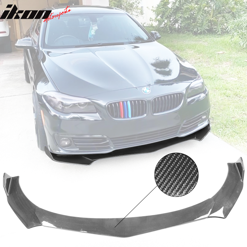 Universal B Style Front Bumper Lip Chin Spoiler Air Dam Carbon Fiber Print Ebay