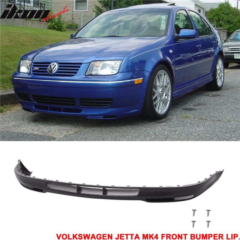 Fits 99-05 Volkswagen Jetta MK4 GLI Style Front Bumper Lip - Polyurethane 842961102023 | eBay