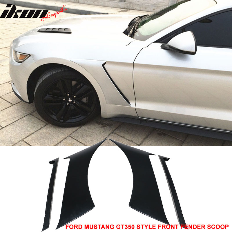For 15 17 Ford Mustang Gt350 Style Front Side Fender Door