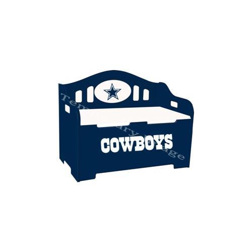 100% authentic 989ef 82101 Dallas Cowboys Kids Furniture Storage Toy Bench