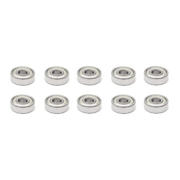 10x 6300 ZZ Single Row Deep Groove Ball Bearings 10x35x11 mm