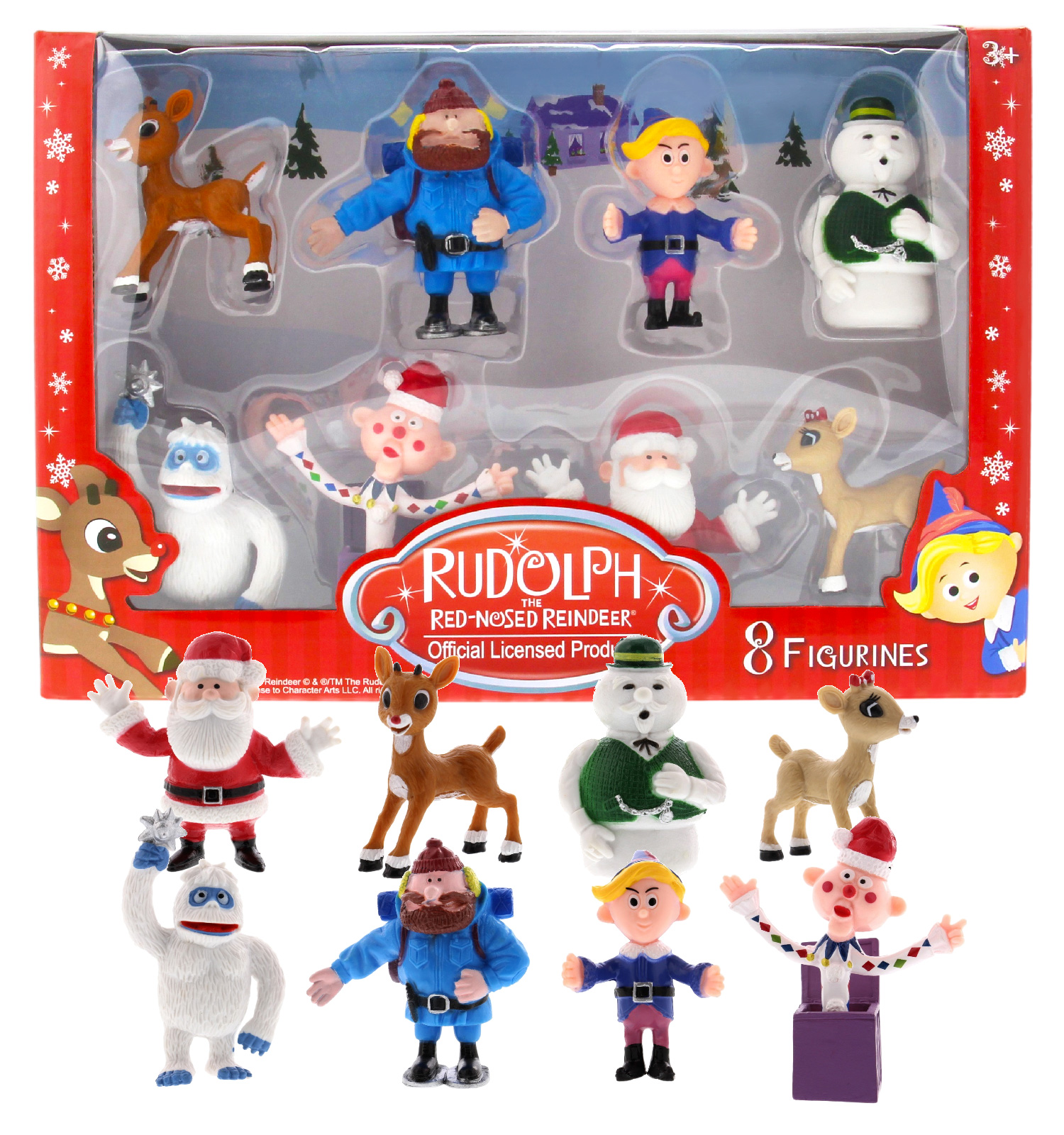 rudolph the red nosed reindeer figurines from the classic movie set of 8 ebay details about rudolph the red nosed reindeer figurines from the classic movie set of 8