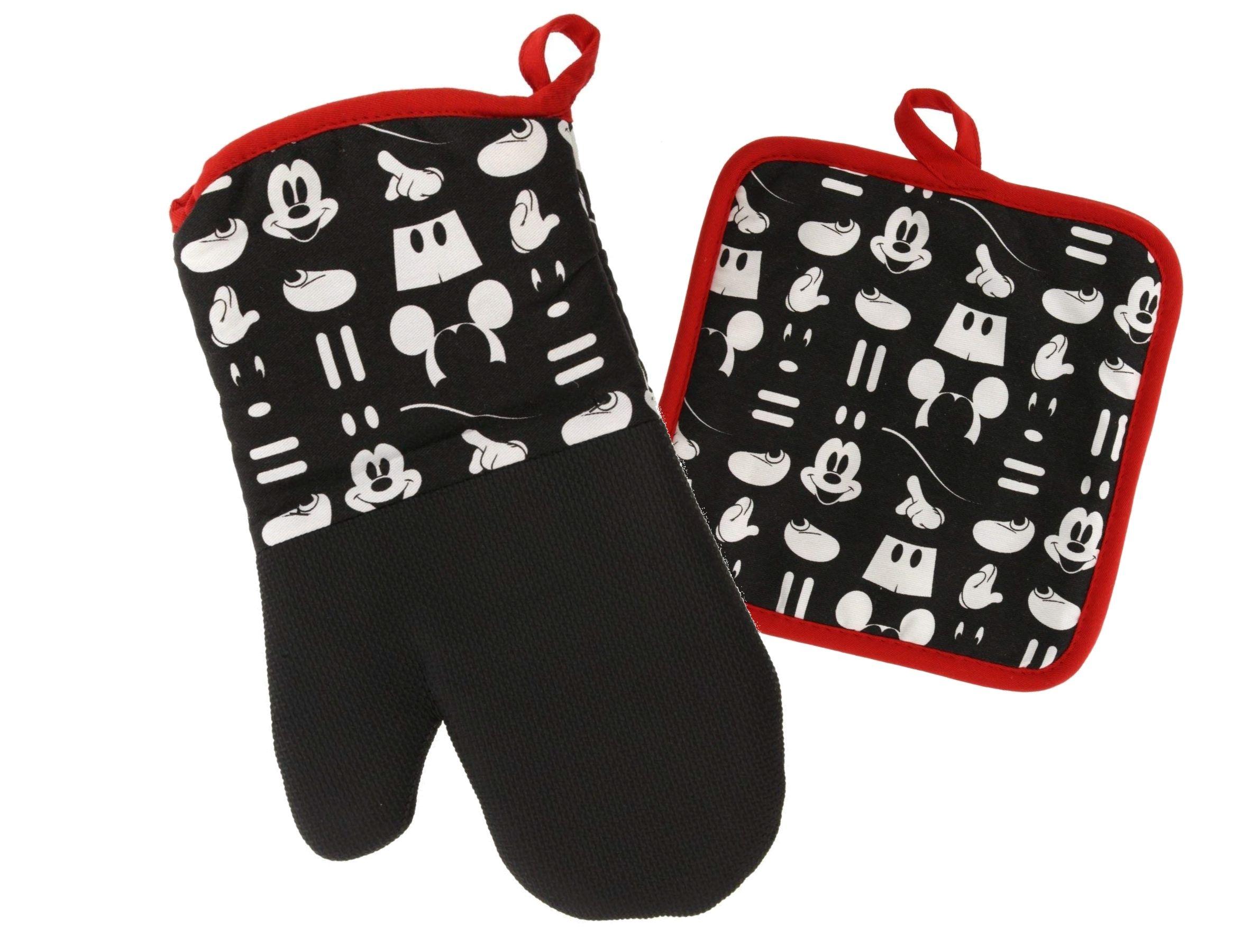 Mickey Mouse Glove Potholder Oven Mitt Disney World Theme Park NEW
