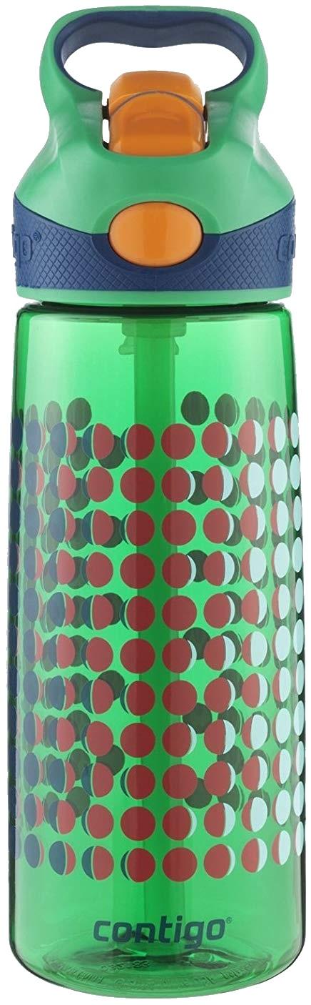 Contigo Kids Water Bottle, Autospout Striker, Spill Proof -