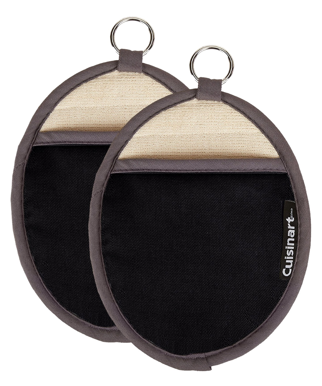 Black 2 Pack Pot Holder
