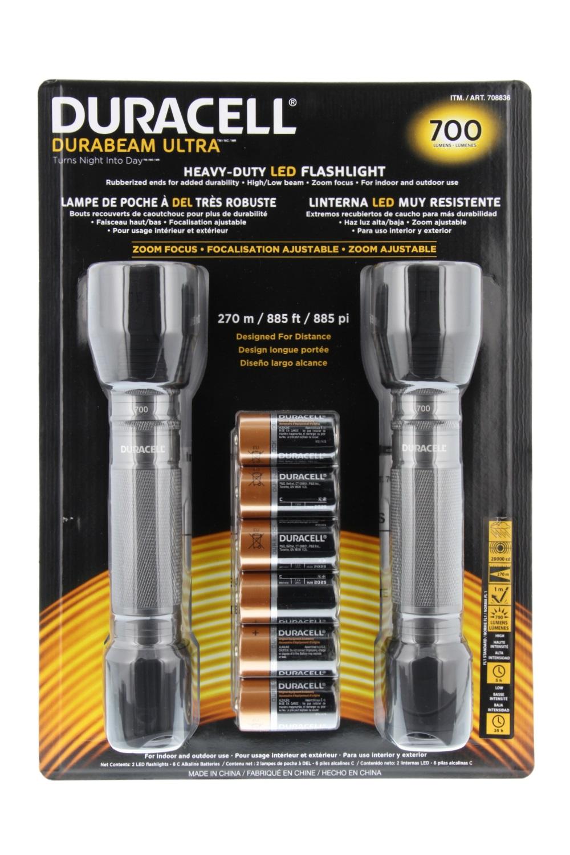 Duracell Durabeam Ultra 700 Lumens Flashlight 2 Pack Ebay