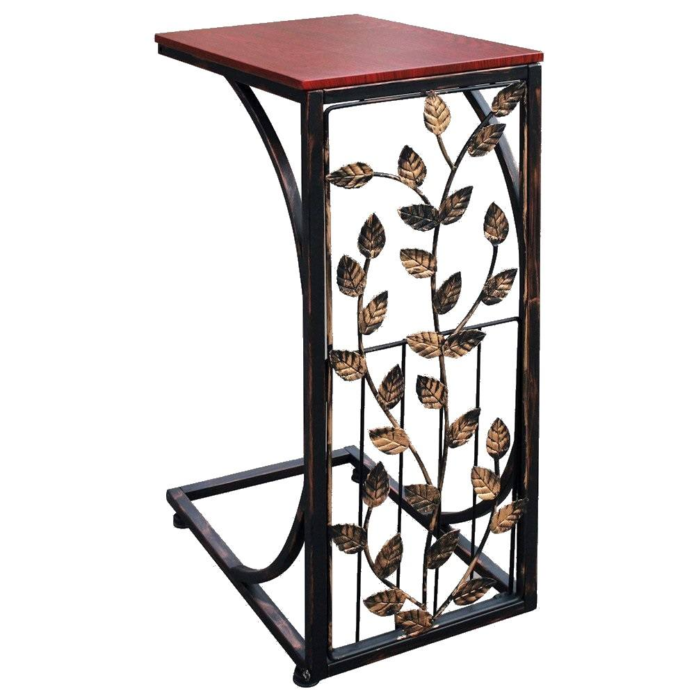 Peachy Details About Etna Elegant Metal Sofa Side Table Leaf Design Alphanode Cool Chair Designs And Ideas Alphanodeonline