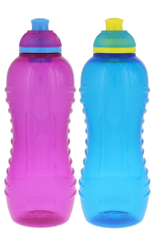 Sistema Lunch Twist \'n\' Sip Water Bottle, 15 oz.   eBay