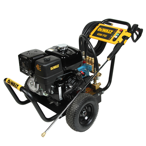 DEWALT DXPW60606 Gas Powered Pressure Washer 4200 PSI 40 GPM Honda