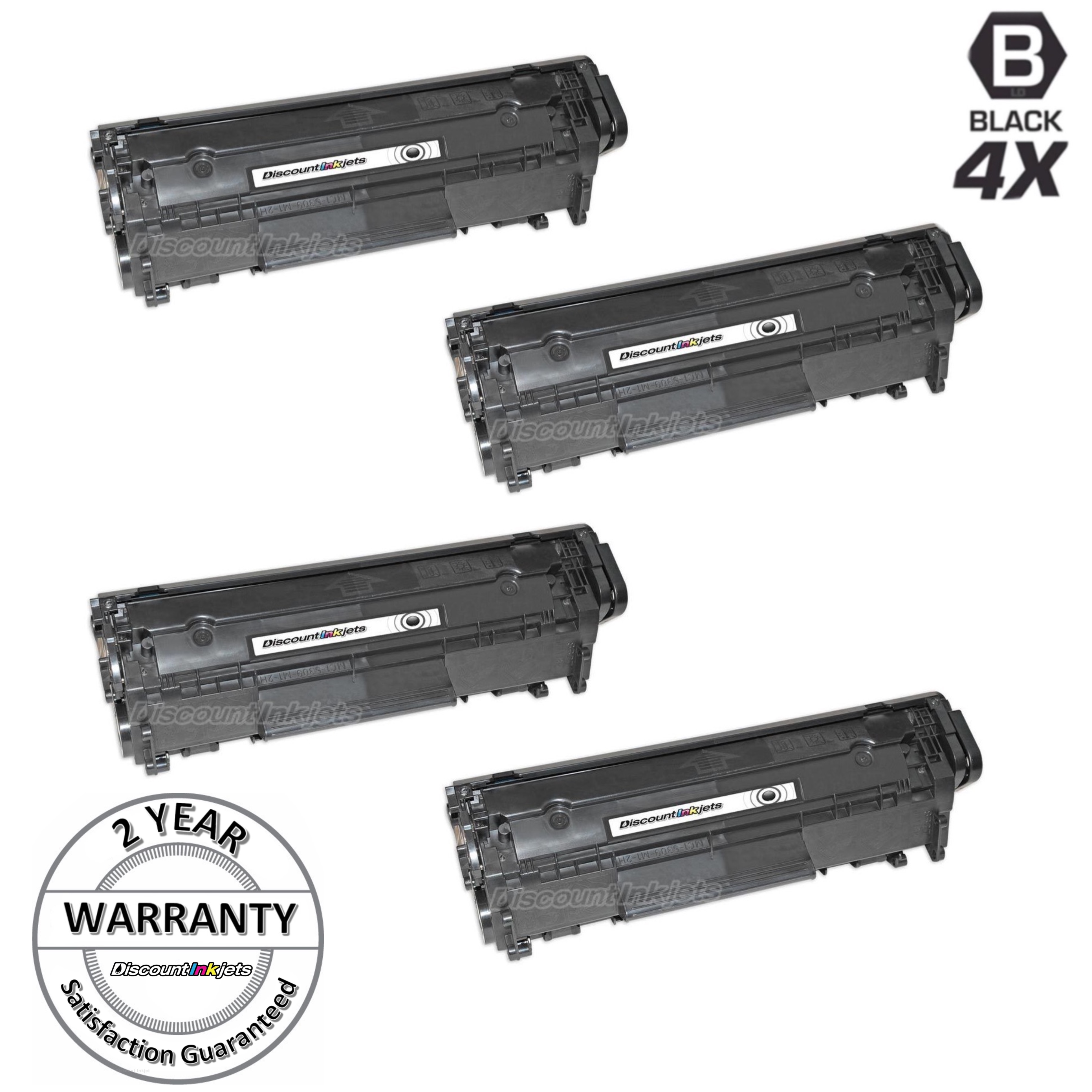 4pk Fx10 Fx9 Toner Cartridge 104 For Canon Imageclass Mf4270 Mf4150
