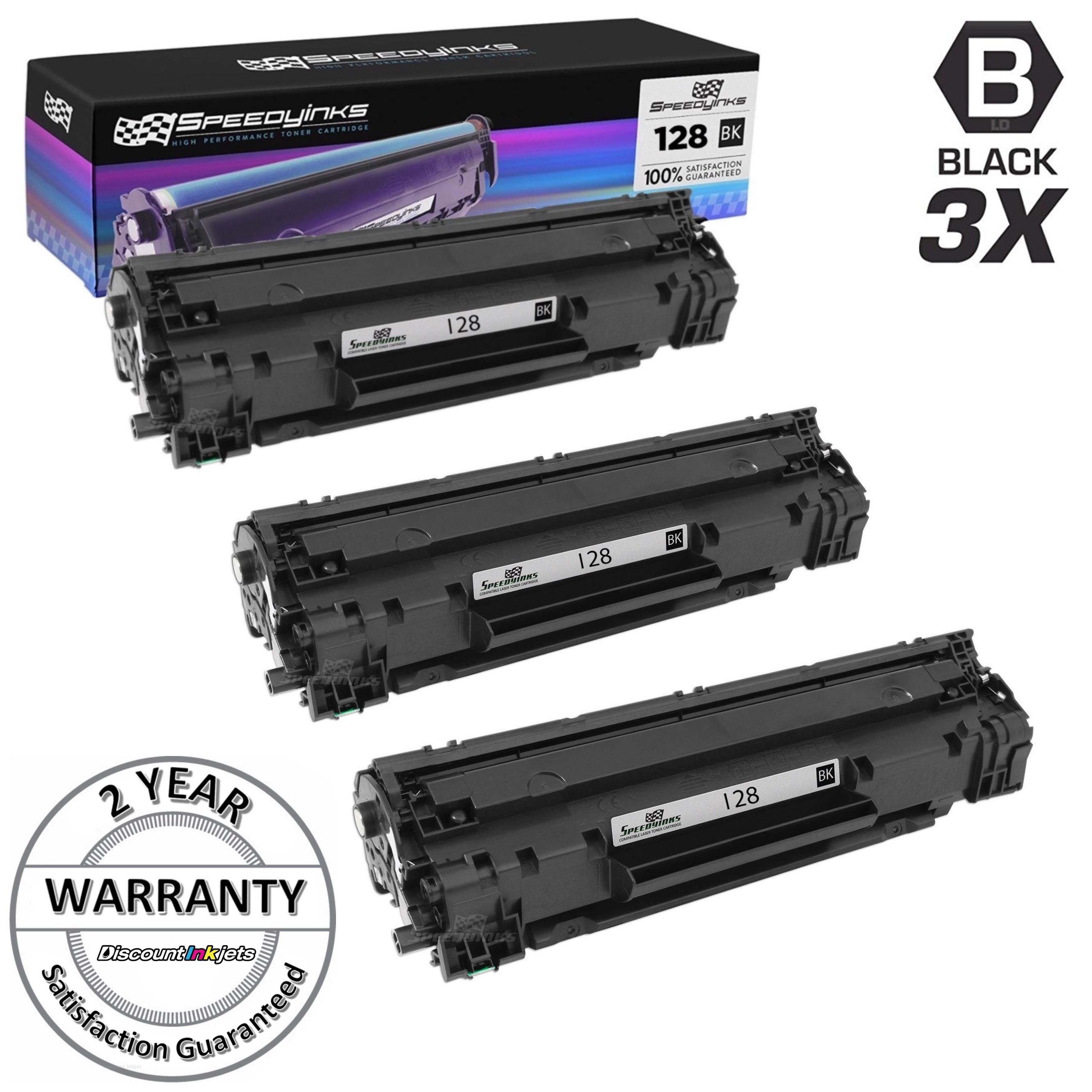 6 PK Black Laser Toner Cartridge For Canon 128 ImageClass MF4890dw MF4570DN D530