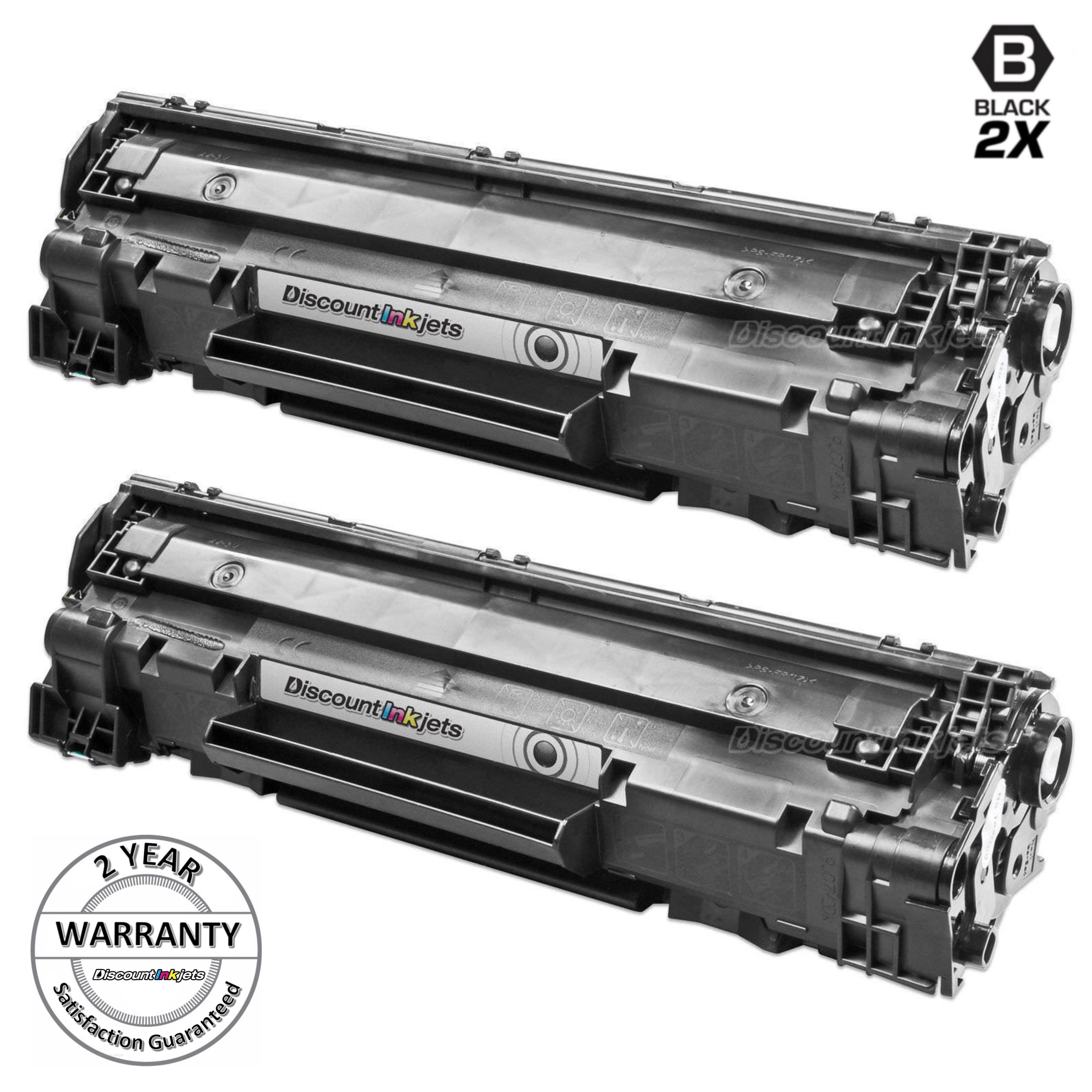 Comp For Hp Ce285a 85a Black Laser Toner Cartridge Laserjet Pro Opc Drum Printer P1102 Katrid 2pk