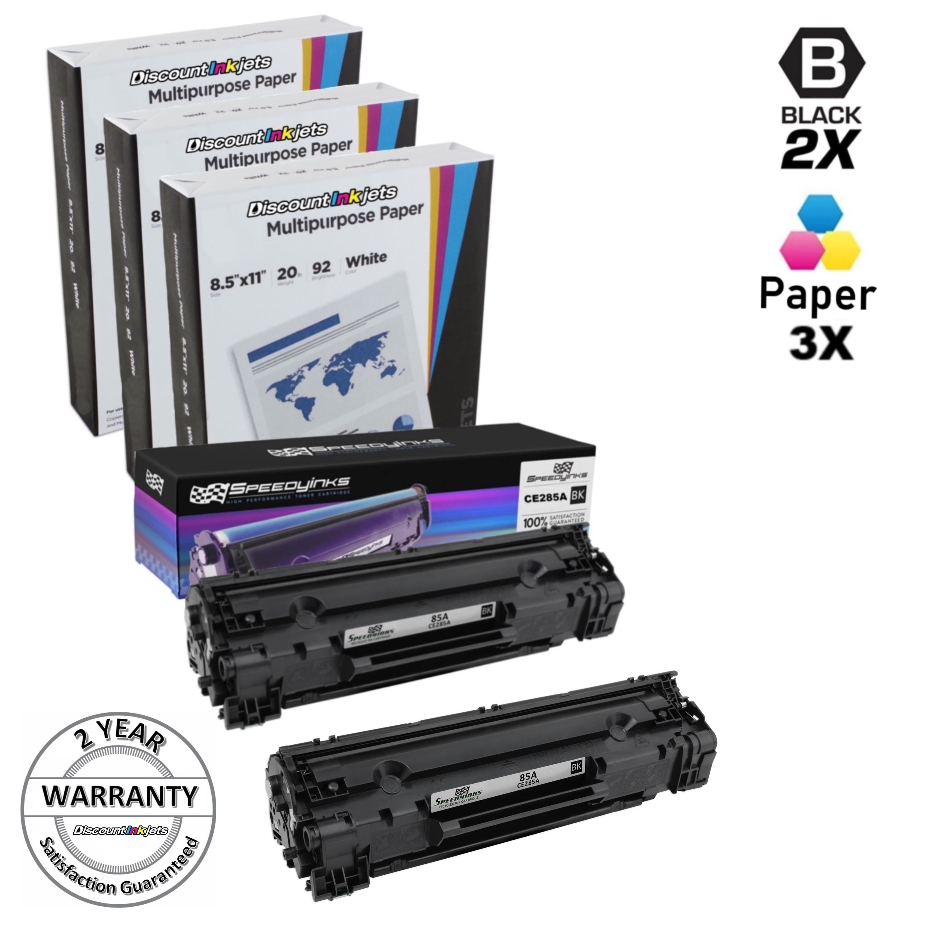 10 Pack Ce285a 85a Black Printer Toner Cartridge For Hp Laserjet Pro Opc Drum P1102 Katrid 2pk 3pk Paper