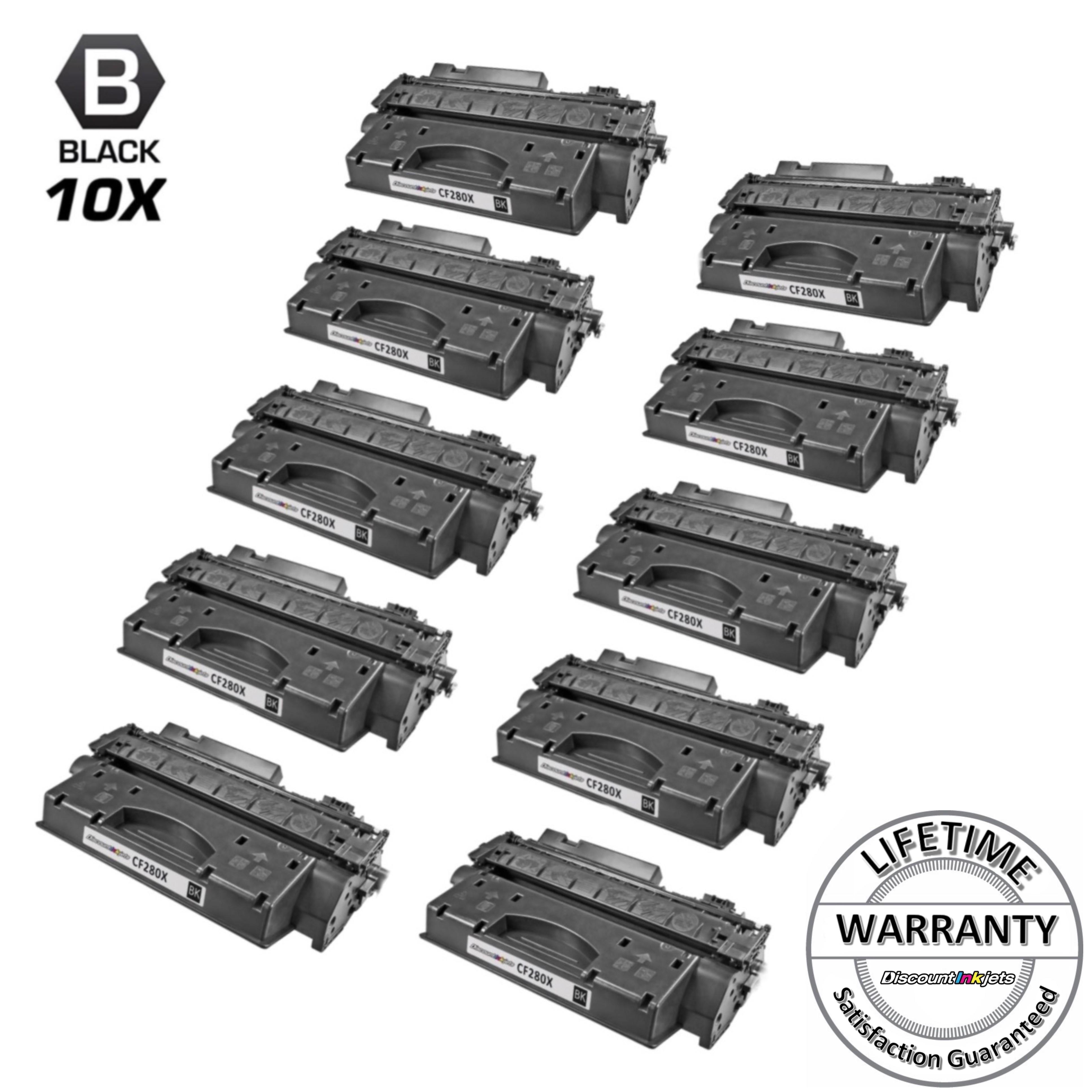 LD Comp Replacements HP 80X CF280X 2pk HY Black Pro 400 M401N M425