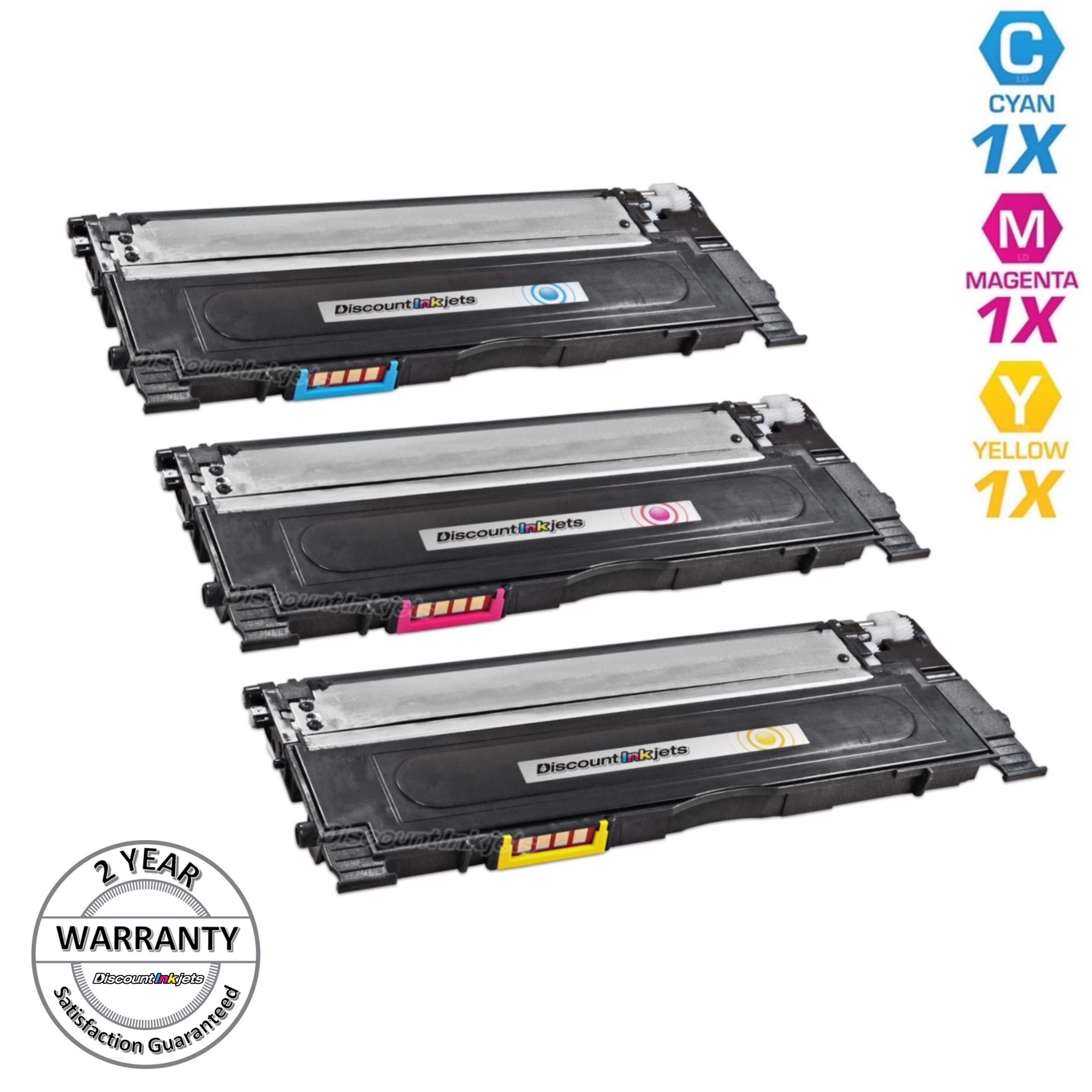 3pk For Dell 1230C 1235C 1235CN Cyan 330-3015 Magenta 330-3014 Yellow 330-3013