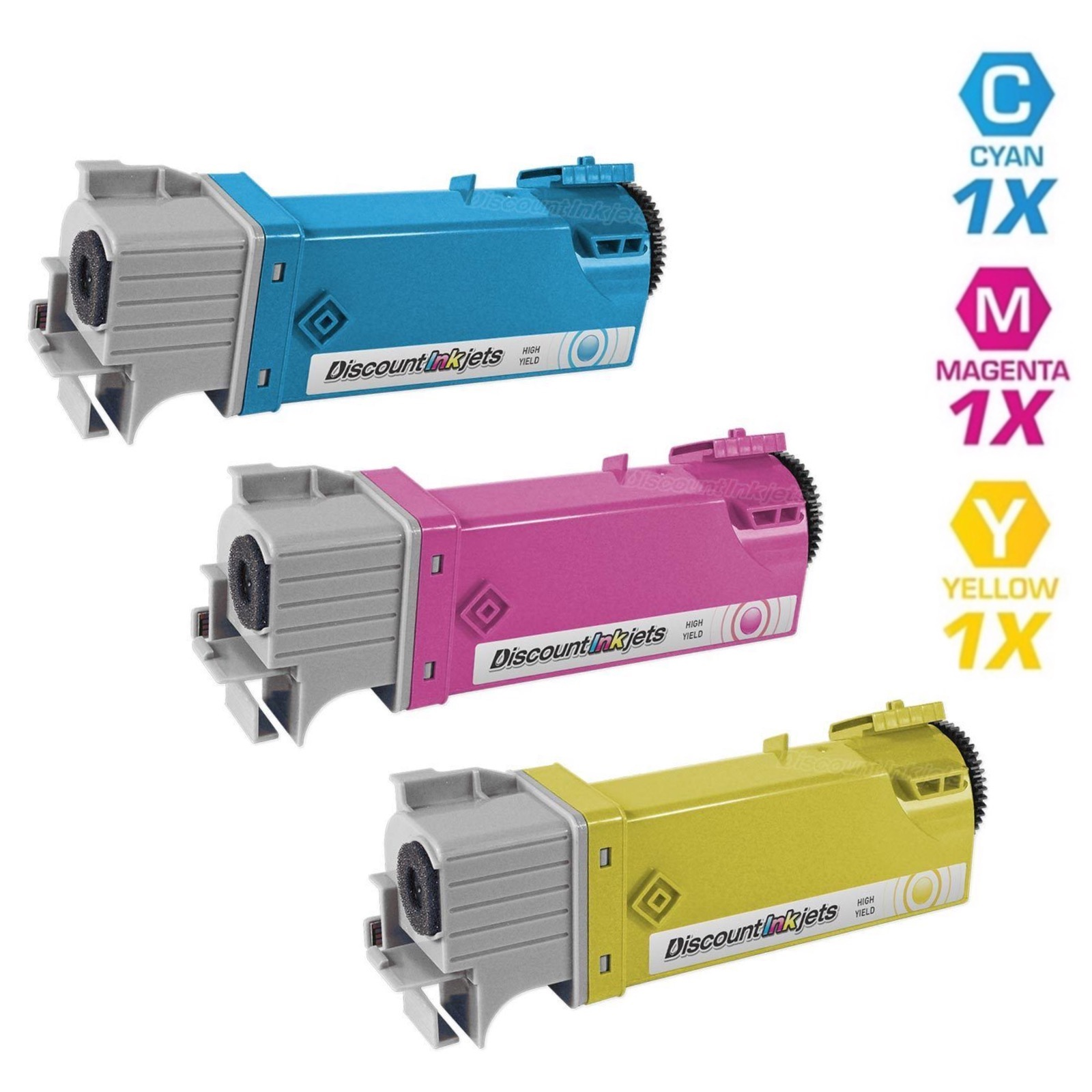 1-Pk//Pack Magenta 2130cn 2135cn Laser Toner Cartridge Use For Dell 330-1436