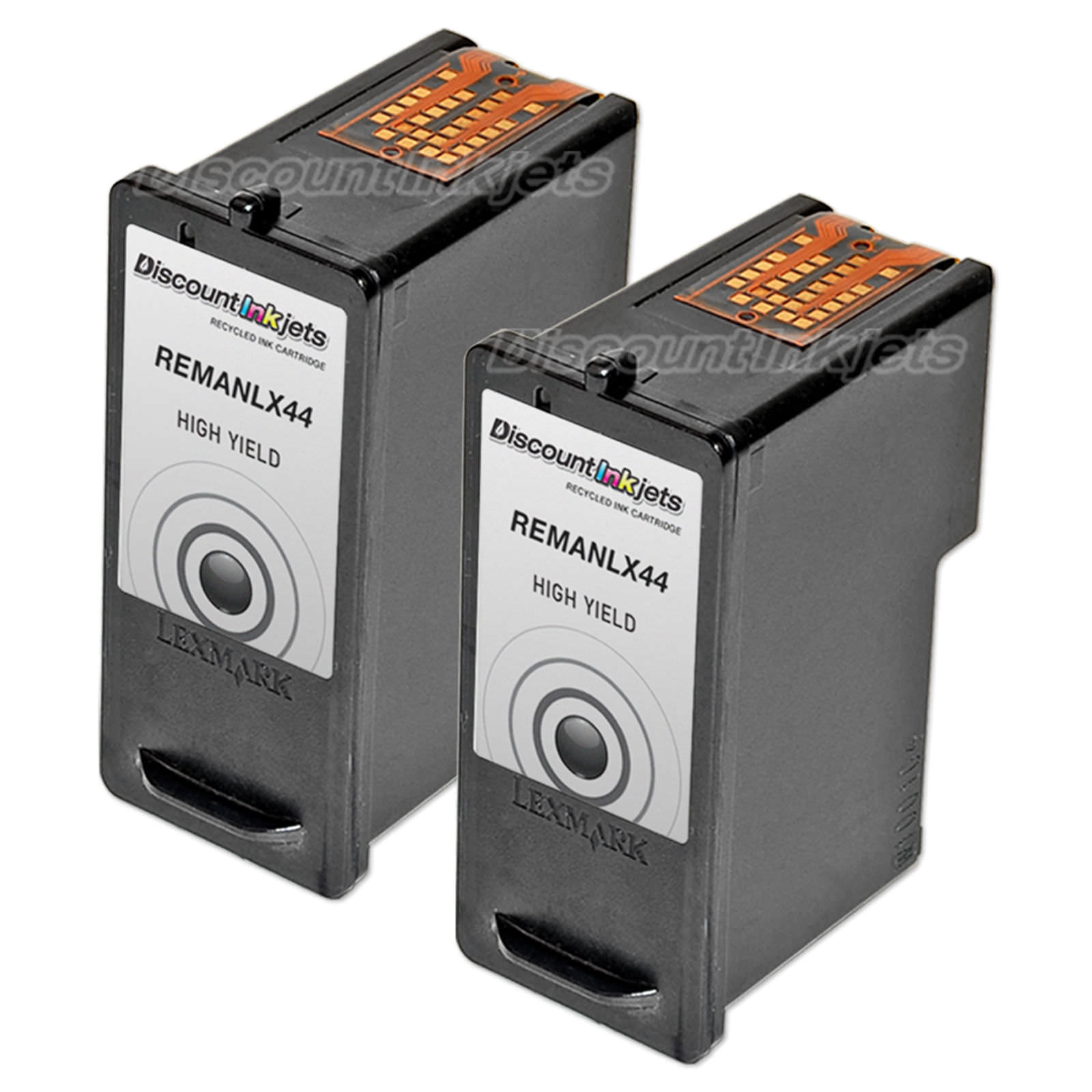 2pk 18y0144 for lexmark 44xl black ink cartridge printer x9570 x9575 rh ebay com Lexmark All in One Inkjet Printer Ink for Lexmark Printers All in One Printer Model X4875