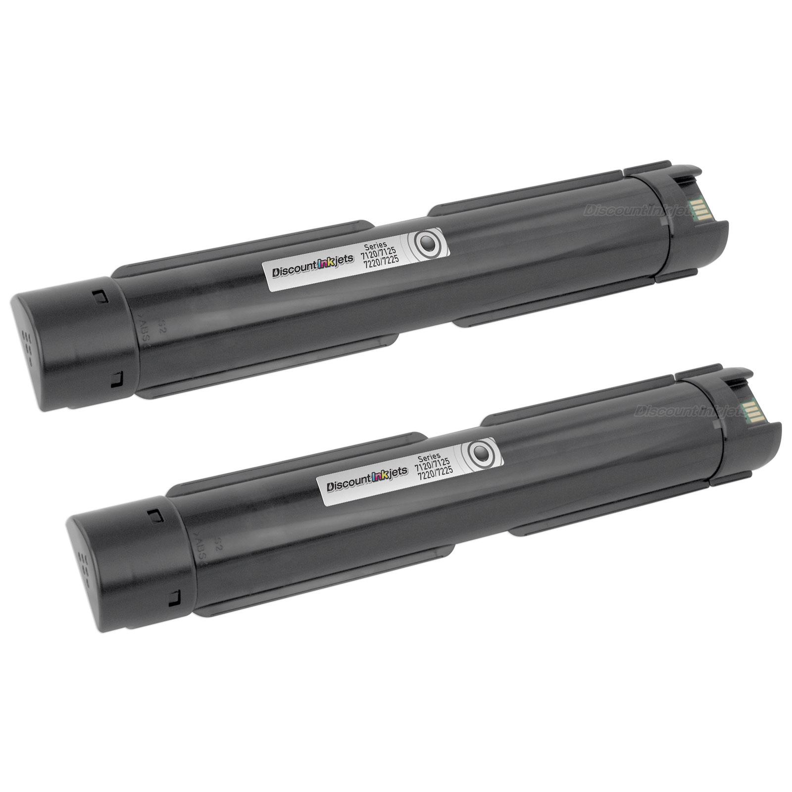 6R1457 BLACK Toner for XEROX 006R01457 WorkCentre 7120 //7125 //7220 //7225