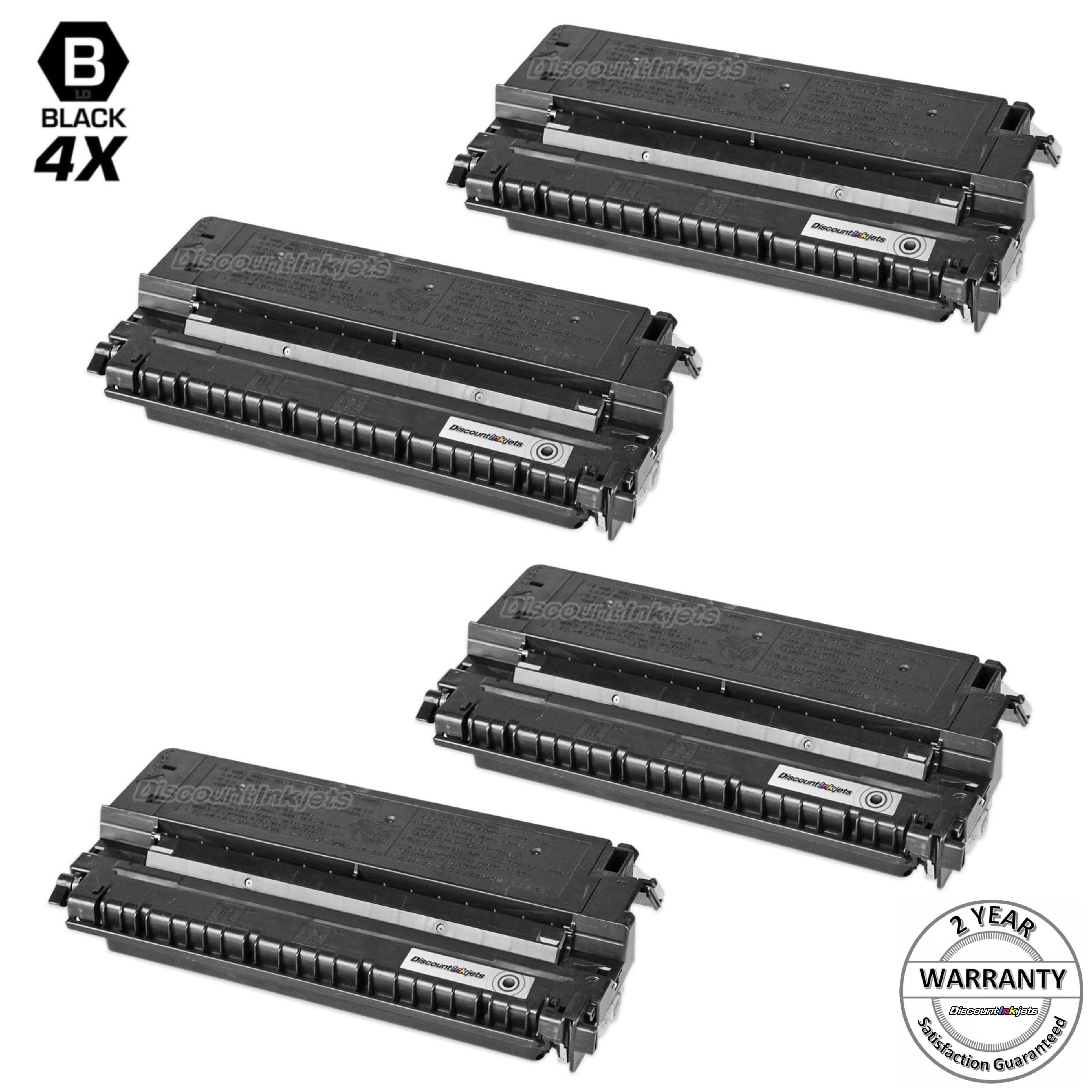 4PK E16 E40 Black Toner Cartridge New For Canon PC860 PC890 Free Shipping