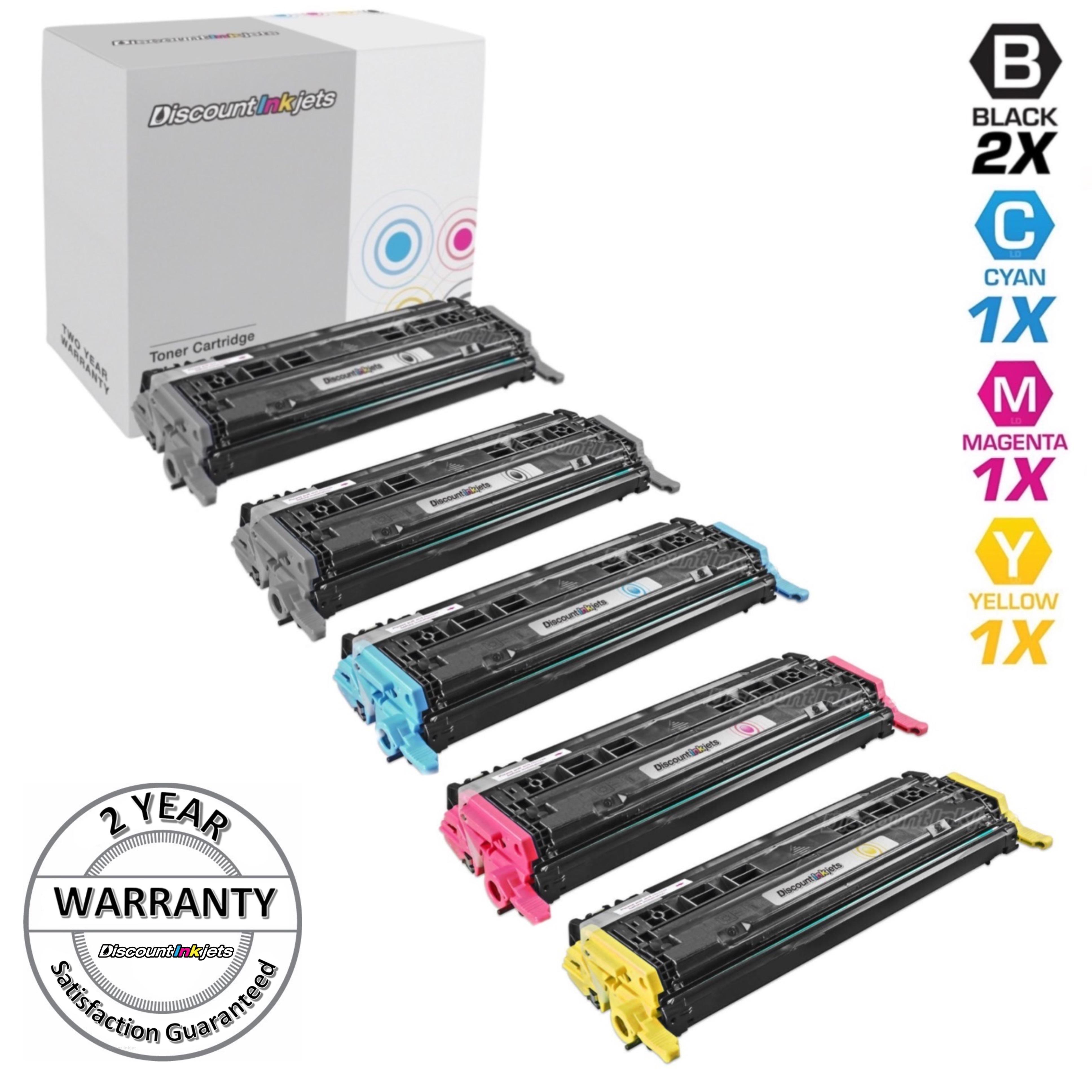 4 pack Q6000A Q6001A Q6002A Q6003A Set for 124A Color 2605dn Printer HI-QTY!