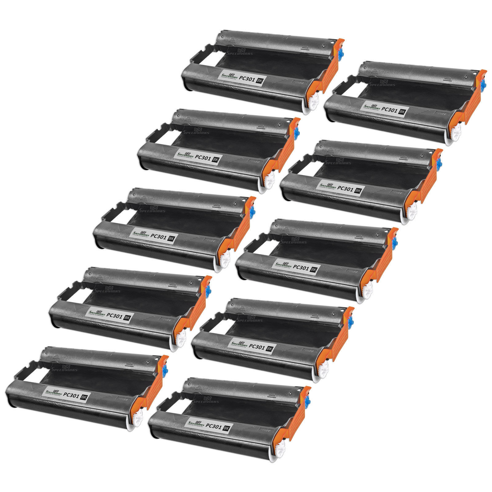 10PK PC301 PC-301 with PC302RF for Brother Fax Printing Cartridge MFC-970MC 885M