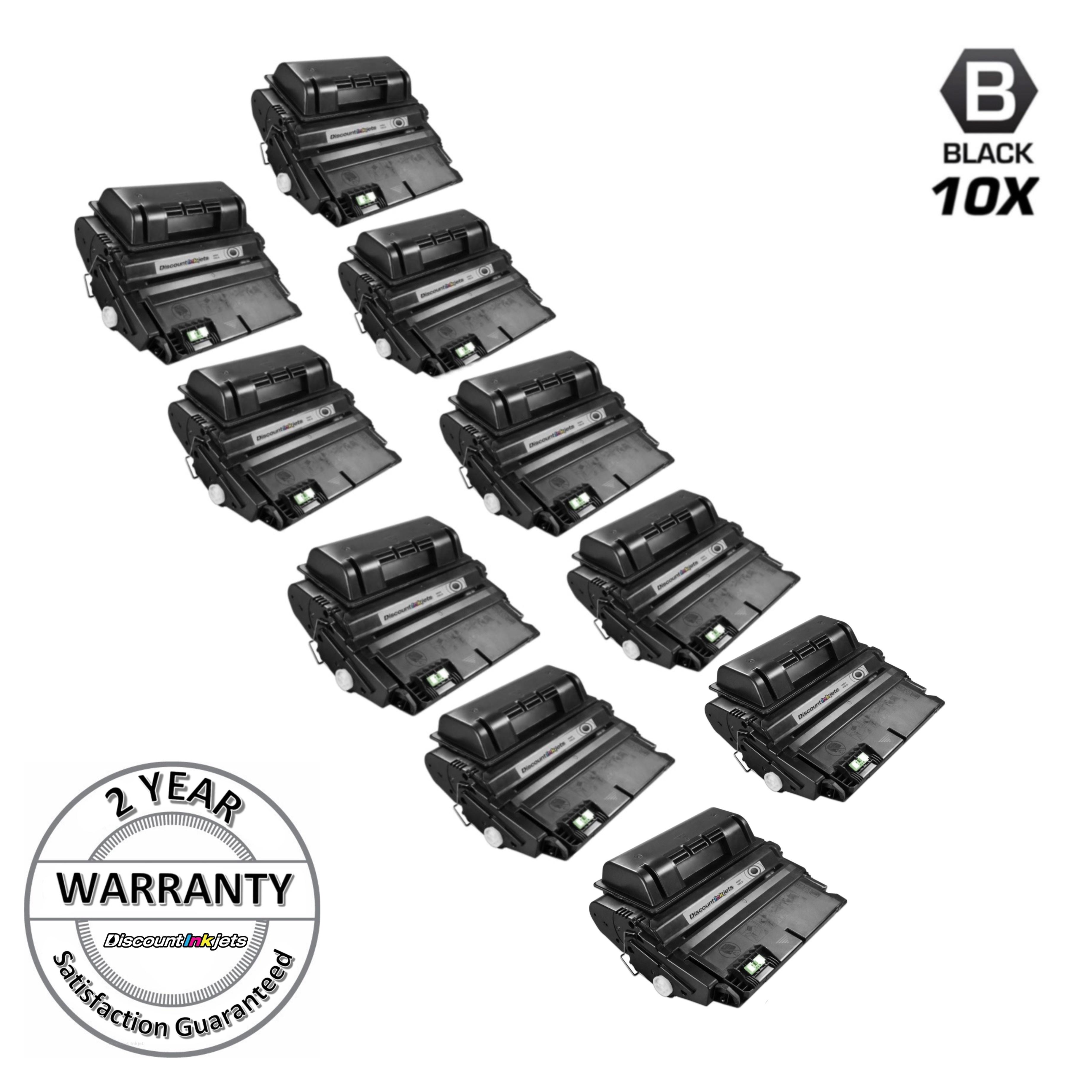 3PK Q5942A 42A Black Toner Cartridge For HP LaserJet 4250 4350tn 4350Dtnsl 4250n