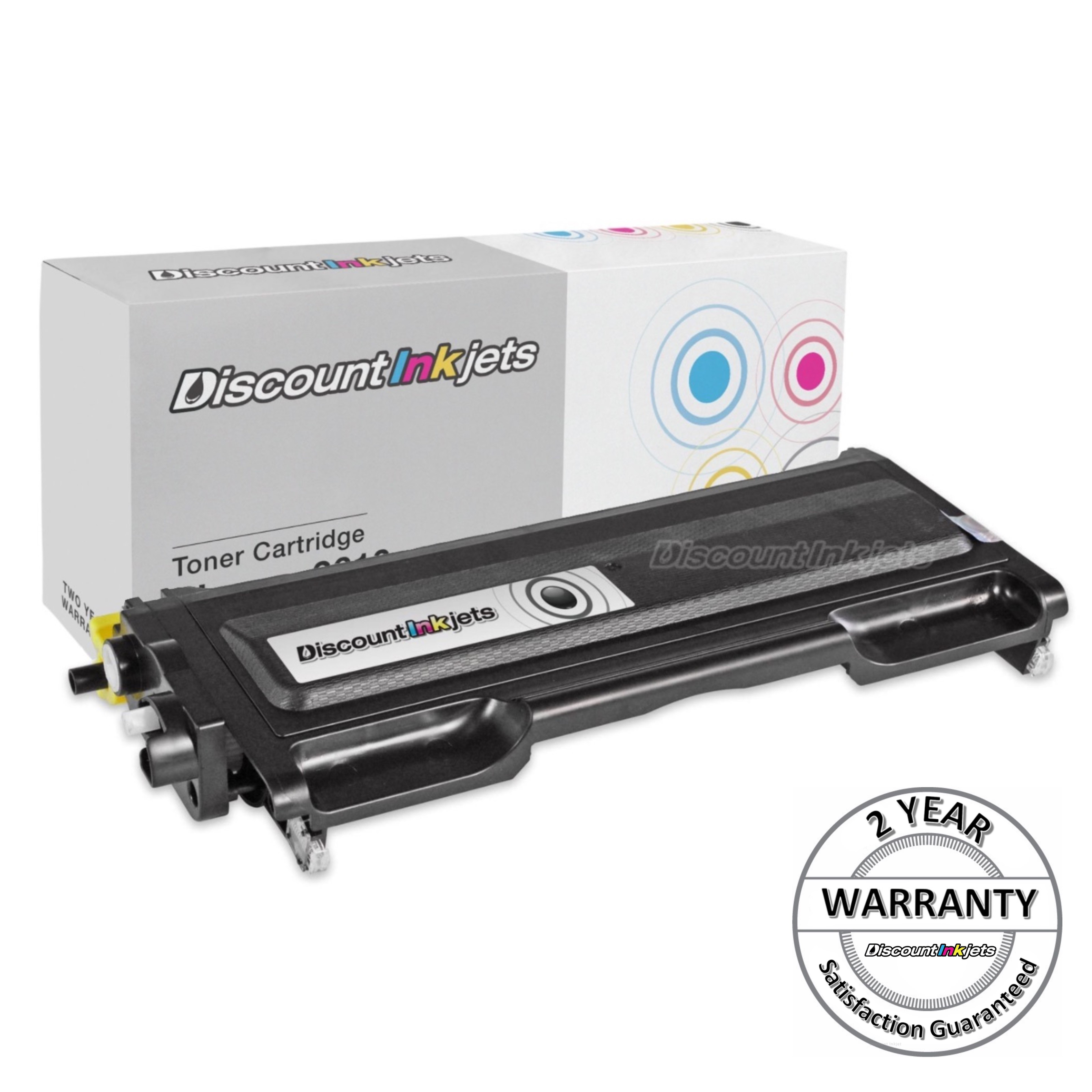 2PK TN-350 350 Toner Cartridges for Brother MFC-7225N 7220 DCP-7020 7010 7025