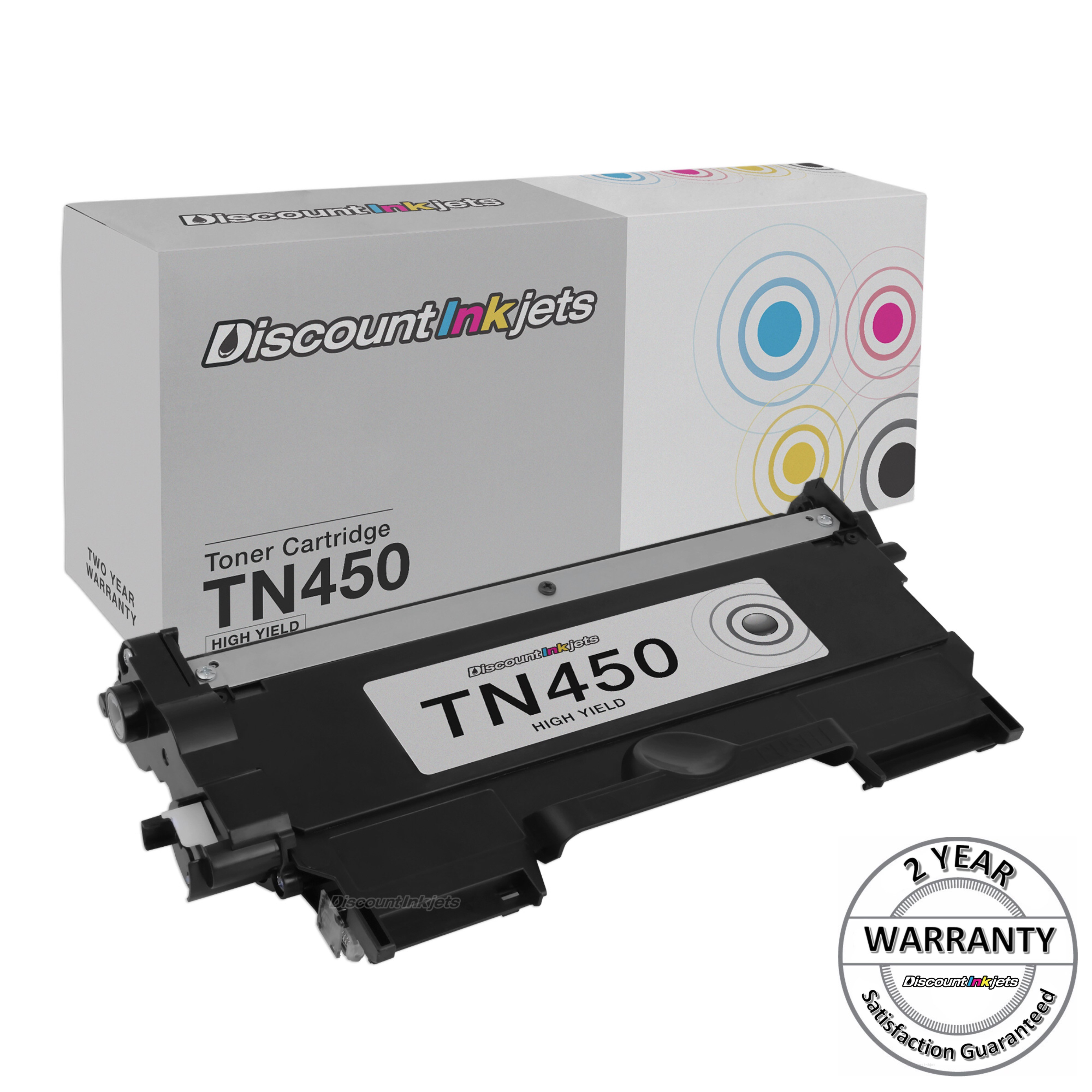 10x TN450 TN-450 HY Toner For Brother DCP-7060D DCP-7065DN HL-2130 HL-2240D NEW