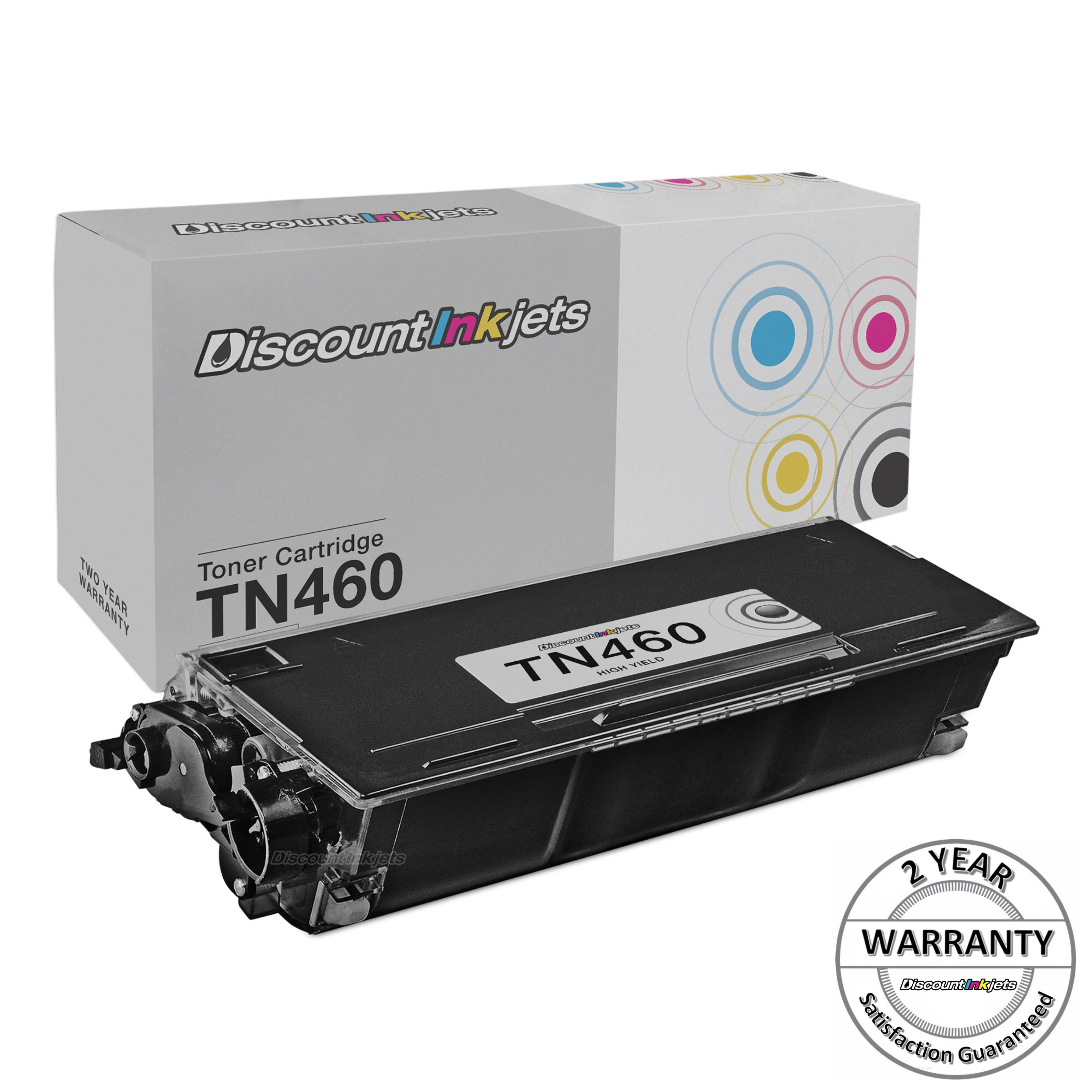 5x TN460 TN-460 HL-1440 HL-1450 Toner Cartridge for