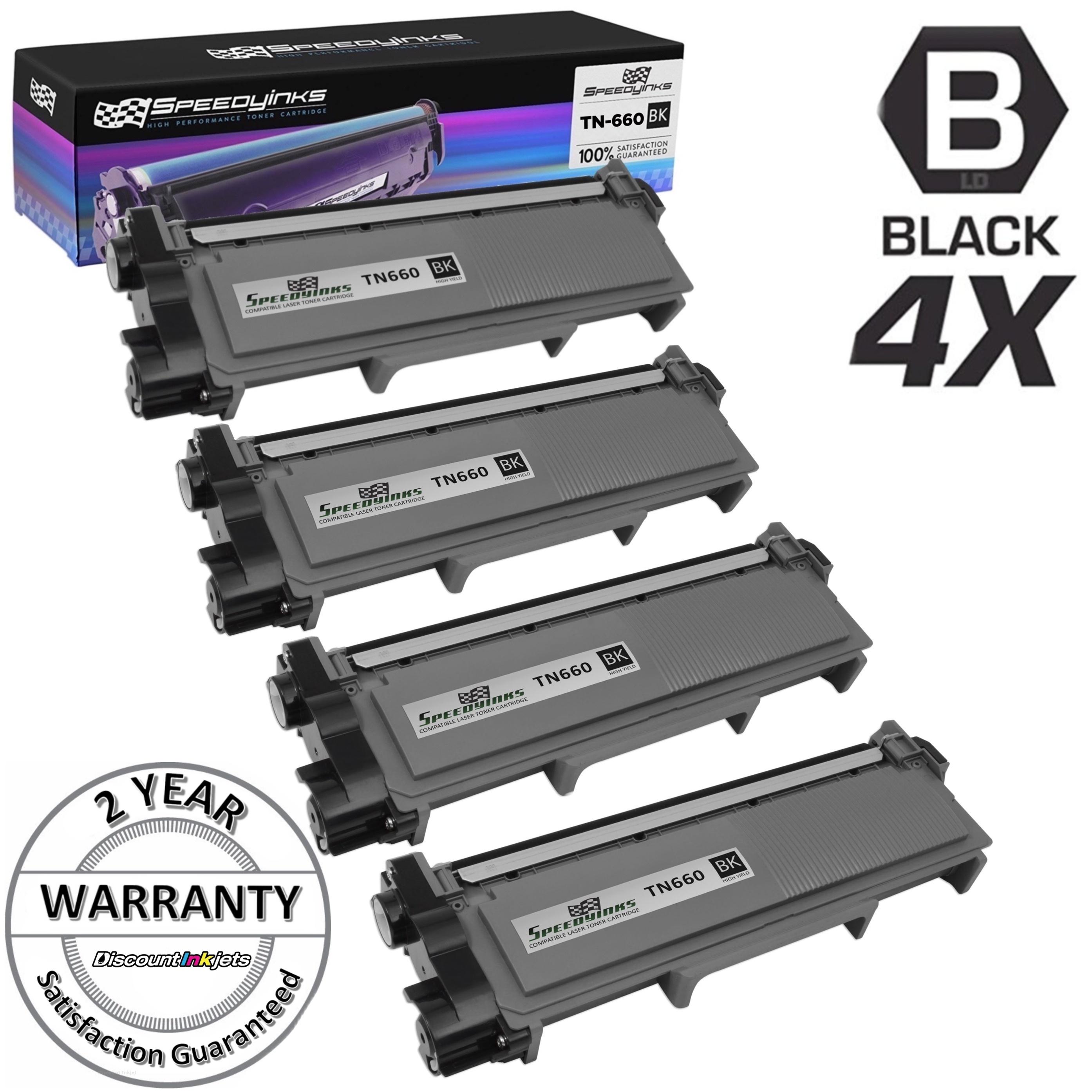 1PK TN660 Toner For Brother HL-L2300D L2320D MFC-L2700DW L2720DW DCP-L2520DW